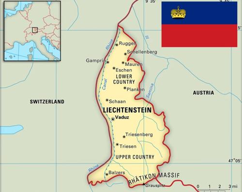 Лихтенштейн – страна, жители которой очень богаты, а заключенным еду доставляют из ресторана. ФОТО