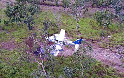 В Папуа – Новой Гвинее разбился набитый кокаином самолет
