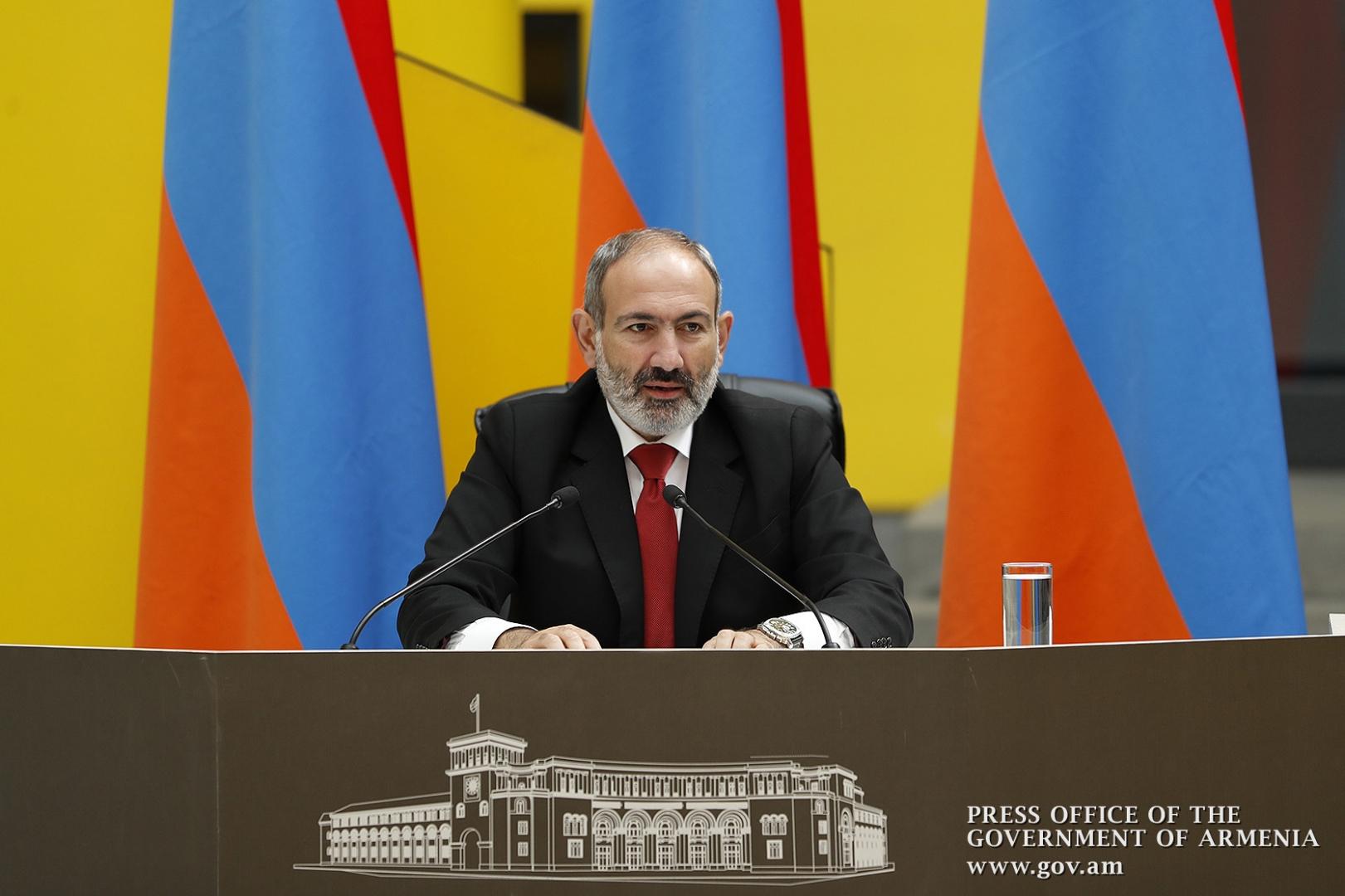 Премьер-министр Армении Пашинян уходит в отставку
