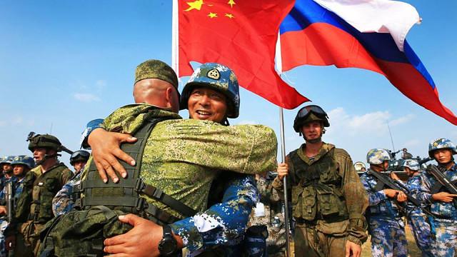 Китайская и российская армия