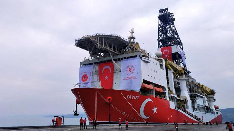 "Турецкое буровое судно ""Явуз"""
