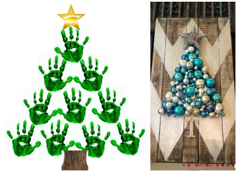 Креативная новогодняя елочка своими руками - OldKurgan.Ru