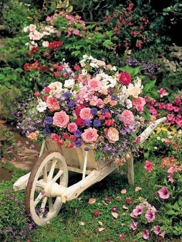 Декор сада своими руками оригинальные идеи фото 57