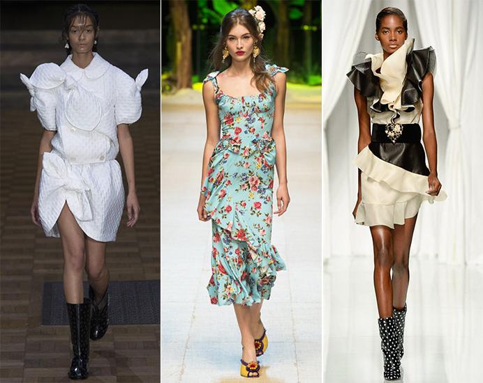 999cd3a5c8a7 Модные платья на весну-лето 2017  главные тенденции. ФОТО