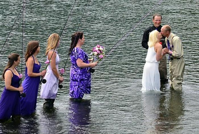 выкупы невесты в стиле рыбалки