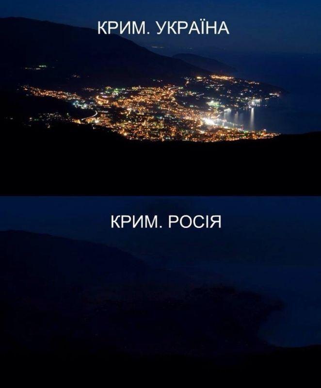 """Марионетки начали хаотично отключать свет в оккупированном Крыму, - """"Крым.Реалии"""" - Цензор.НЕТ 6020"""