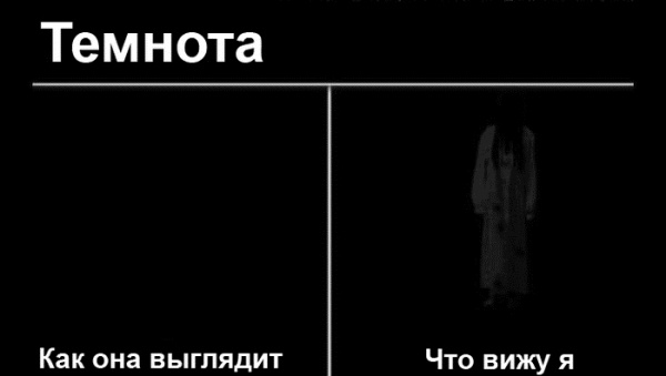 Как сделать чтобы я видел в темноте