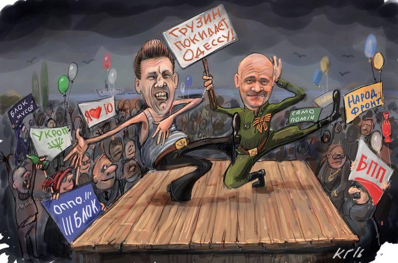 Если Кабмин внесет представление, Порошенко подпишет отставку Саакашвили, - АП - Цензор.НЕТ 2363