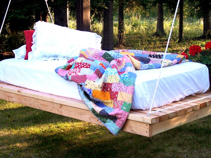 Мебель для отдыха на природе своими руками 77