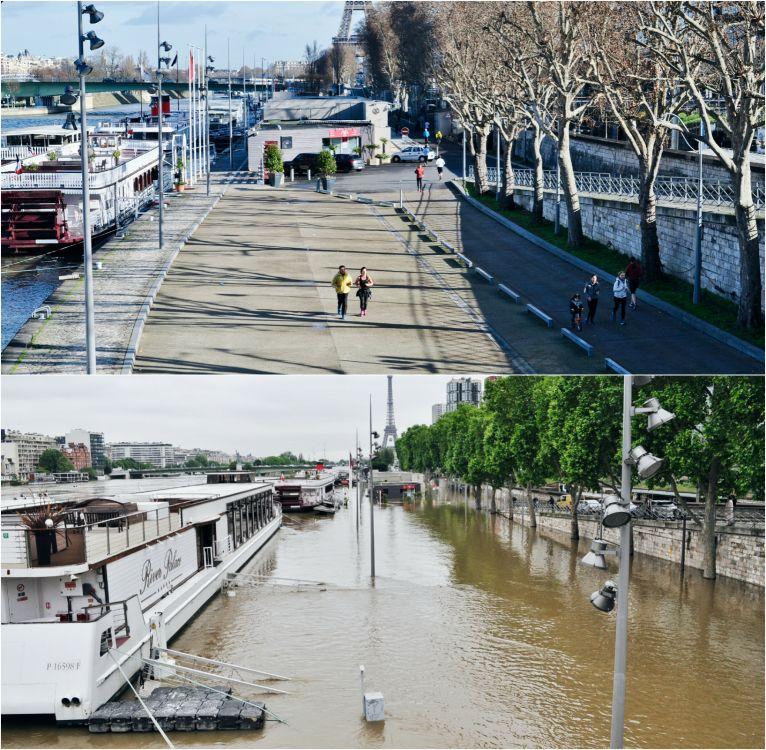 наводнение в париже фото quot до и после quot агрегатор новостей
