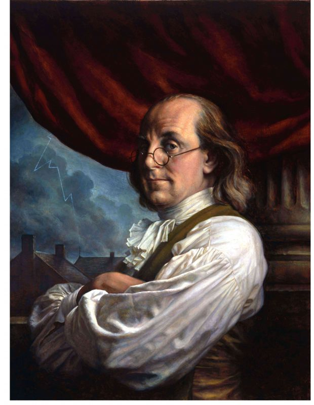 a report on benjamin franklin the most important american