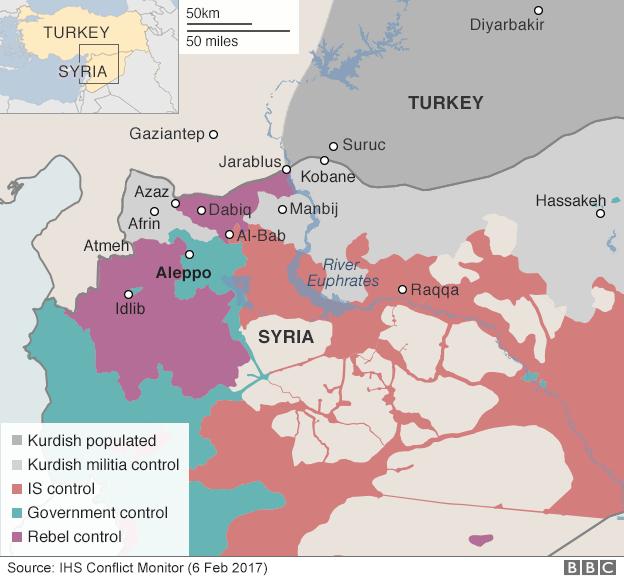 ВВС: Турция отрицает заявления России о том, что турецкие солдаты были убиты по ошибке