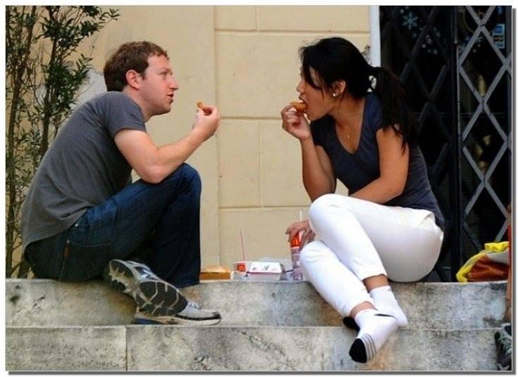 Цукерберг и девушка
