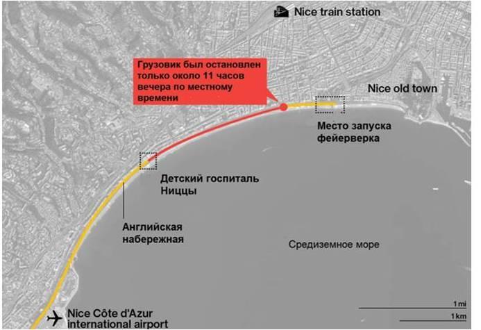 CNN: Теракт в Ницце. Подробности на данный момент