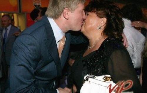 Татьяна Бахтеева и Ринат Ахметов.