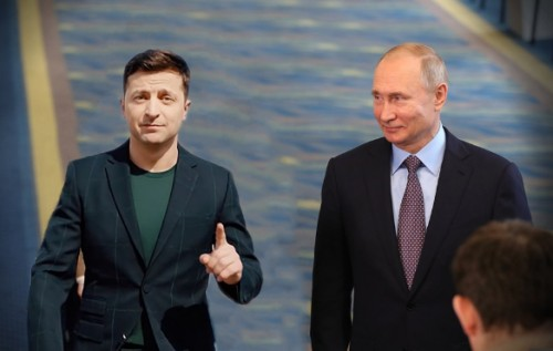 Як Путін привітав Зеленського