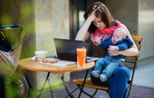 малий син єбеться з молодою мамою