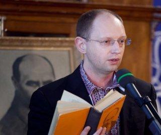 Яценюк в очередной раз доказывал, что он — украинец. ВИДЕО