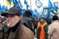 Платный митинг на Майдане в поддержку Януковича. ФОТО
