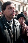 Акция в поддержку известного блогера Александра Володарского. ФОТО