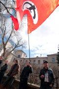 Национал-большевики Украины пикетировали посольство США. ФОТО