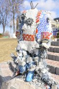На Пейзажной аллее в Киеве вандалы разбили скульптуру Маленького принца. ФОТО