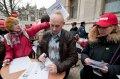 Сотрудники «Газеты по-киевски» провели акцию протеста. ФОТО