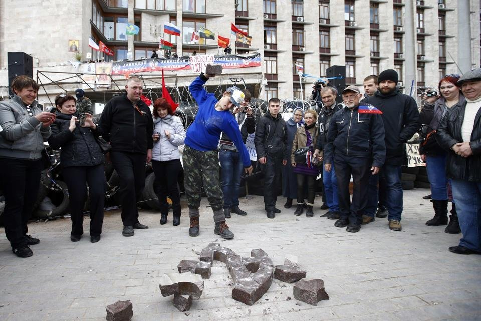 Украинские воины освободили Николаевку. 50 боевиков сдались, - Аваков - Цензор.НЕТ 2177