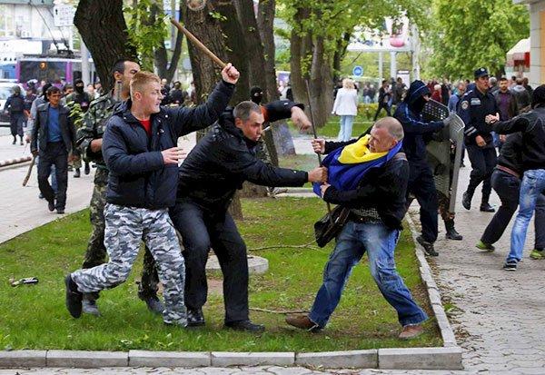 """""""Азов"""" без потерь отбил несколько атак террористов в районе Тельманово - Цензор.НЕТ 8022"""