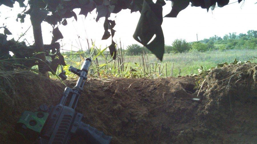 Украинская армия под Славянском расширяет контролируемую зону и ставит новые блокпосты, - российский журналист - Цензор.НЕТ 4178