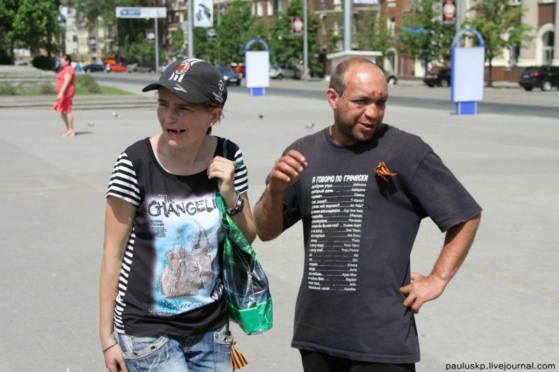 Дождевая вода, отсутствие газа и электричества, приготовление пищи на костре - быт оставшиеся в Славянске жителей - Цензор.НЕТ 6300