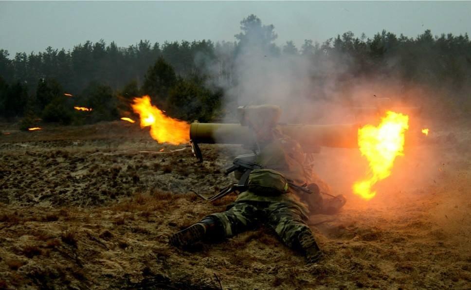 """Украинские военные подбили три установки """"Град"""" сепаратистов, - активист - Цензор.НЕТ 1588"""