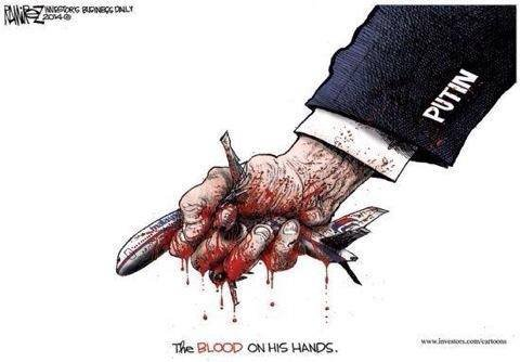 """Путин пообещал повлиять на террористов для расследования крушения """"Боинга"""", - глава МИД Австралии - Цензор.НЕТ 8865"""