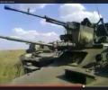 Кадыровцы перед вхождением на территорию Украины