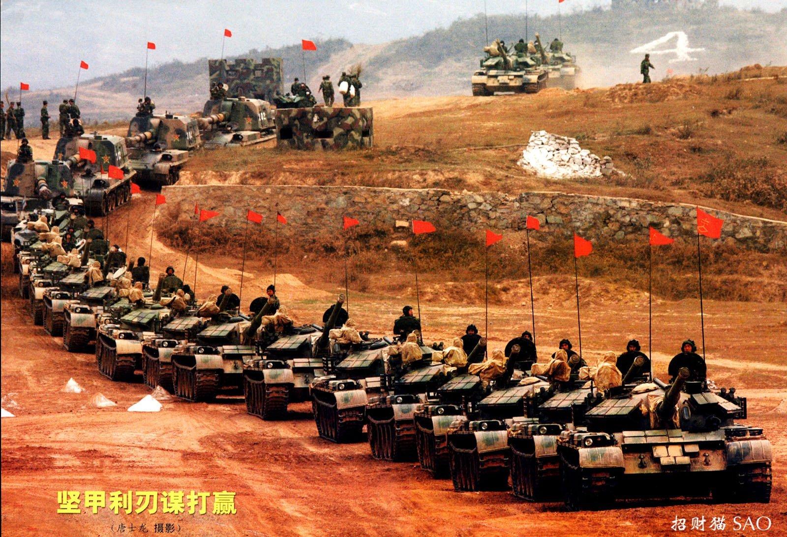 Китай стягивает свои войска к границе с Россией