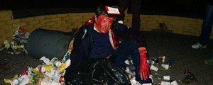 Що робив Пилипишин після того, як потрапив у сміття. ВІДЕО