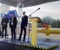 Яценюк відкрив газогін «Вояни-Ужгород», який забезпечить реверсні поставки газу до України. ФОТО