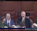 Новый «народный мэр» Стаханова отправляет людей за пенсией к «фашистской хунте». ВИДЕО