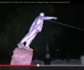 Украинский ленинопад продолжился в Одесской области. ВИДЕО