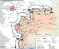 В России нарисовали, как будет выглядеть буферная зона в Украине. ФОТО