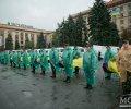 В Днепропетровске простились  21 неопознанным погибшим участником АТО. ФОТО
