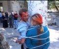 В Одессе наркоторговцев привязали к столбу и выкрасили краской. ФОТО, ВИДЕО