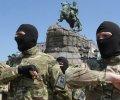 100 бійців «Азову» склали у Києві присягу та вирушили у зону АТО. ВІДЕО