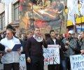 Радикальная партия провела предупредительную люстрацию возле Бабушкинского суда Днепропетровска. ФОТО, ВИДЕО