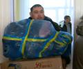 Батальйон «Батьківщина» передав допомогу дітям в Слов`янську. ВІДЕО