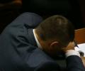 Мірошниченко заснув на відкритті нової сесії Ради. ВІДЕО
