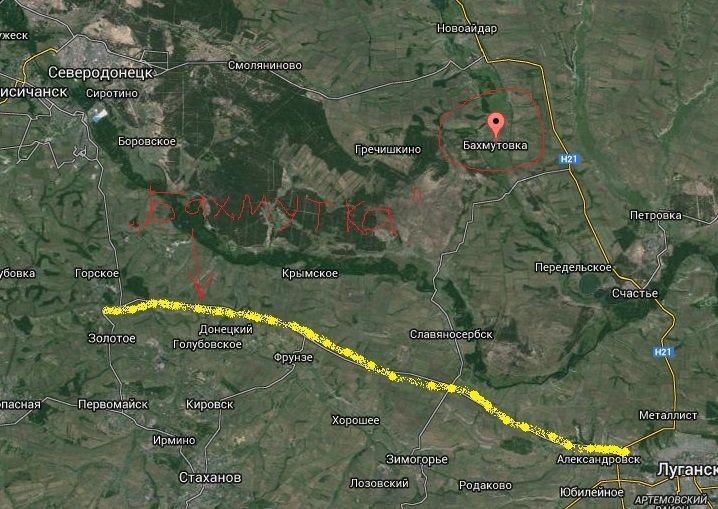 В СНБО назвали самые горячие точки в зоне АТО: наиболее сложная ситуация в районе Бахмутовской трассы - Цензор.НЕТ 1081