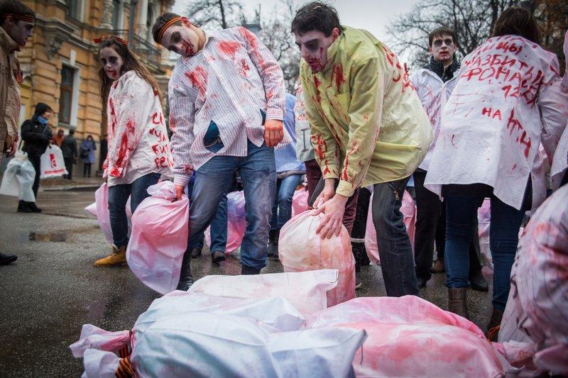"""Российские журналисты погибли от минометного огня """"своих же сепаратистов"""", - Савченко - Цензор.НЕТ 848"""