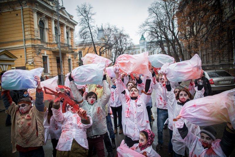 """Российские журналисты погибли от минометного огня """"своих же сепаратистов"""", - Савченко - Цензор.НЕТ 8120"""
