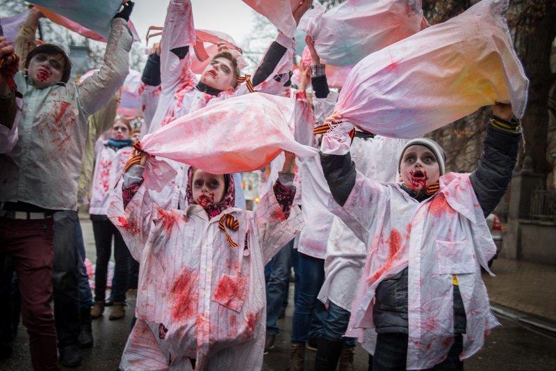 """Российские журналисты погибли от минометного огня """"своих же сепаратистов"""", - Савченко - Цензор.НЕТ 9131"""